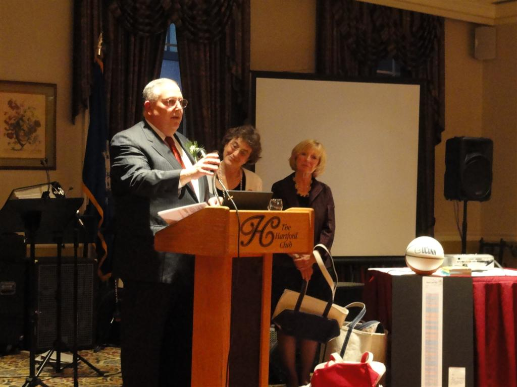 Former CMS (then called HCFA) head Bruce Vladeck Spoke at the event