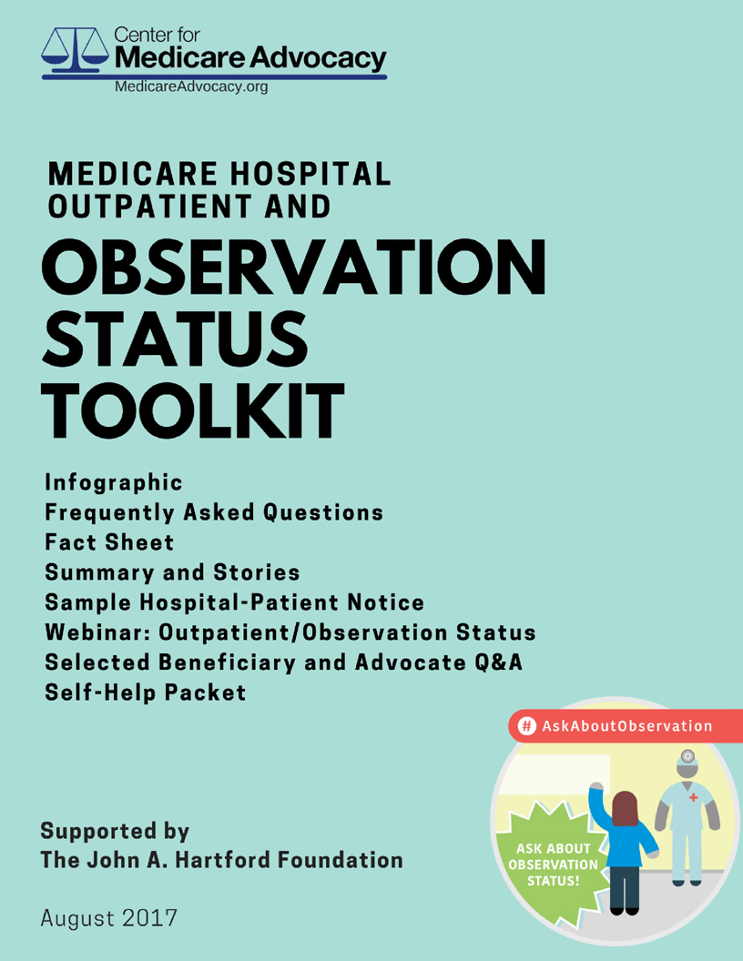 Medicare Hospital Outpatient & Observation Status Toolkit