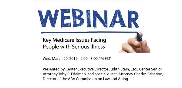 CMA Webinars | Center for Medicare Advocacy